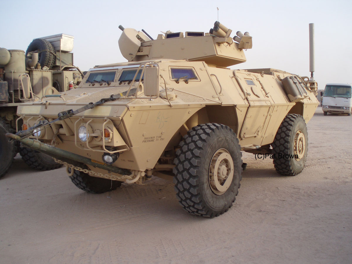 TOADMAN'S TANK PICTURES M1117 GUARDIAN PAGE 1