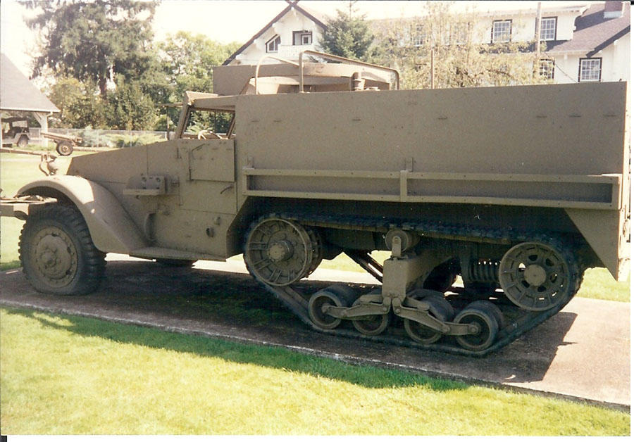 TOADMAN'S TANK PICTURES M3A1 HALFTRACK