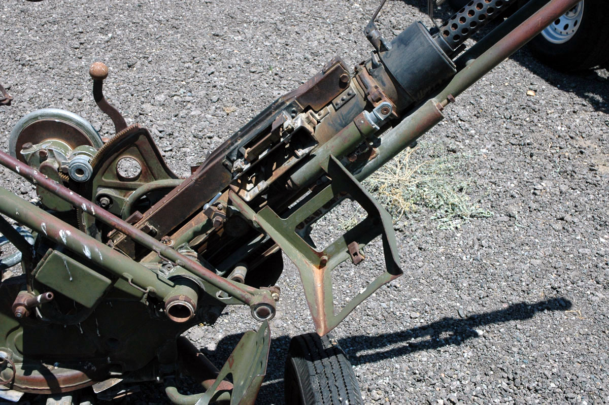 Anti-aircraft Gun Firing 14.5mm 14.5mm Anti-aircraft Gun